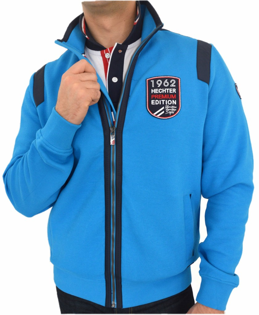 Daniel Hechter Sweatjacke sweat nightblue 14126.704.61