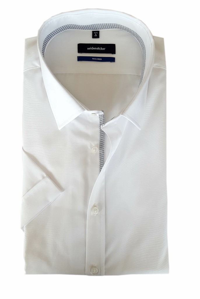 Seidensticker Tailored Herren Hemd weiss 01.246369.01